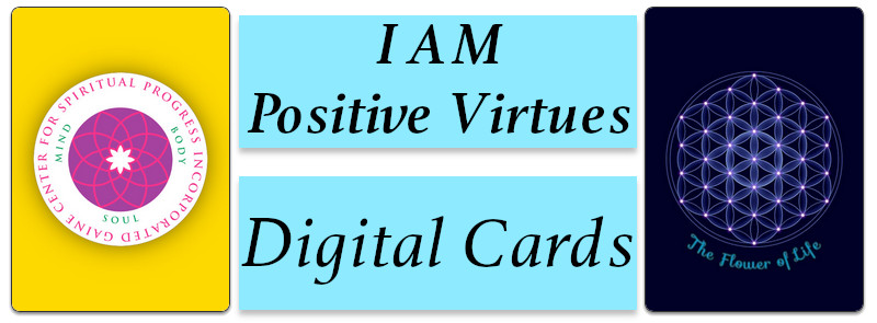I AM Positive Virtues Digital Cards
